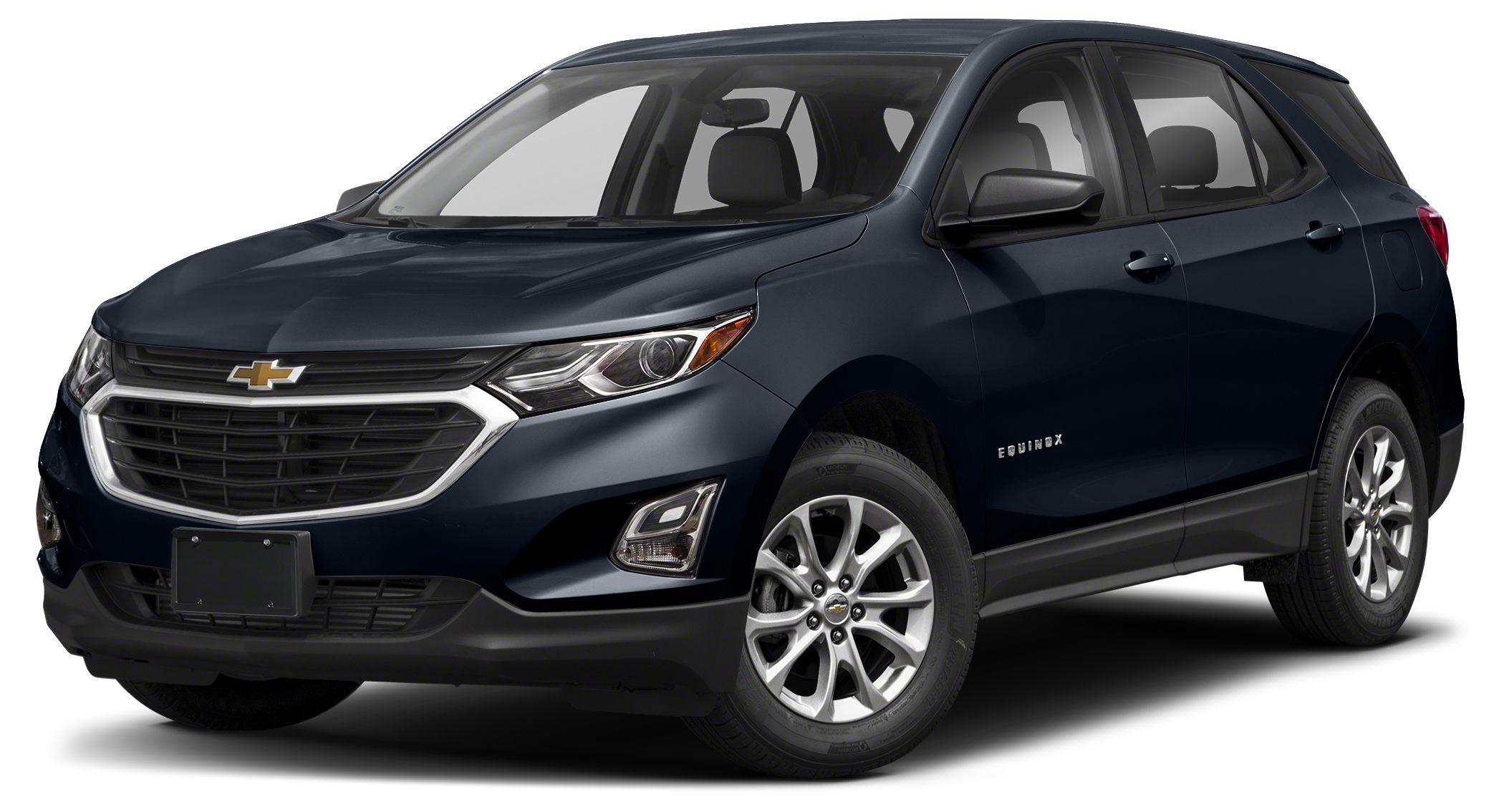 2018 Chevrolet Equinox LS FUEL EFFICIENT 32 MPG Hwy26 MPG City Back-Up Camera iPodMP3 Input E