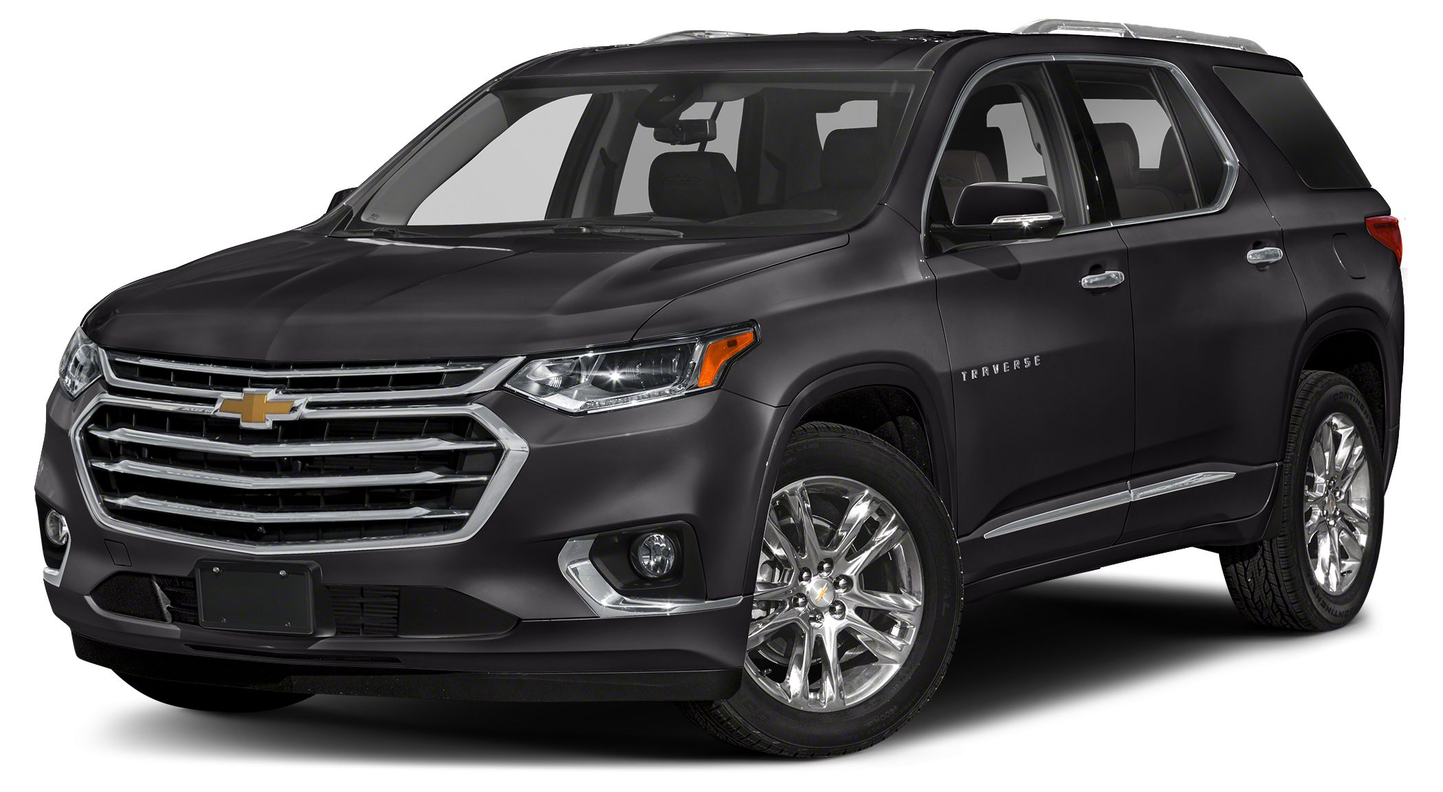 2018 Chevrolet Traverse High Country Miles 5Color Mosaic Black Metallic Stock 185286 VIN 1GN