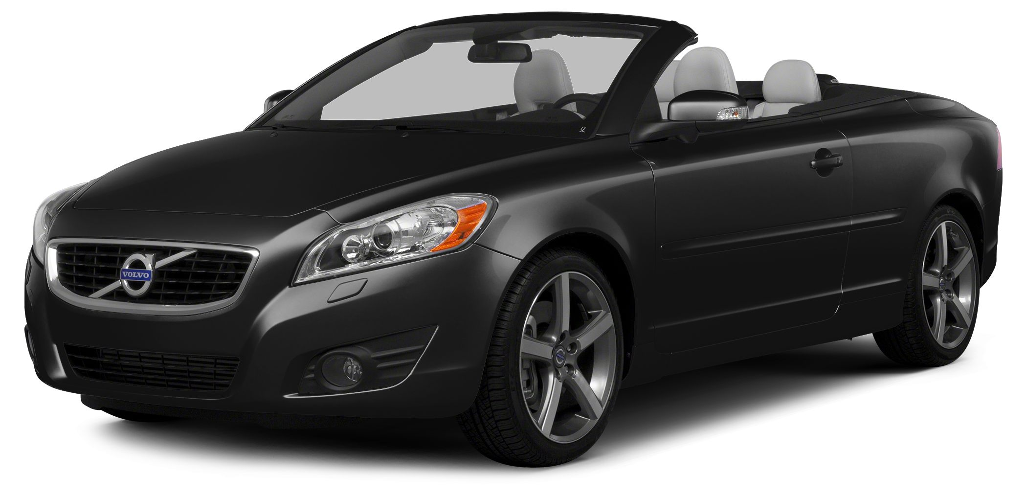 2013 Volvo C70 T5 C70 T5 2D Convertible 25L 5-Cylinder Turbocharged 5-Speed Automatic with Gea