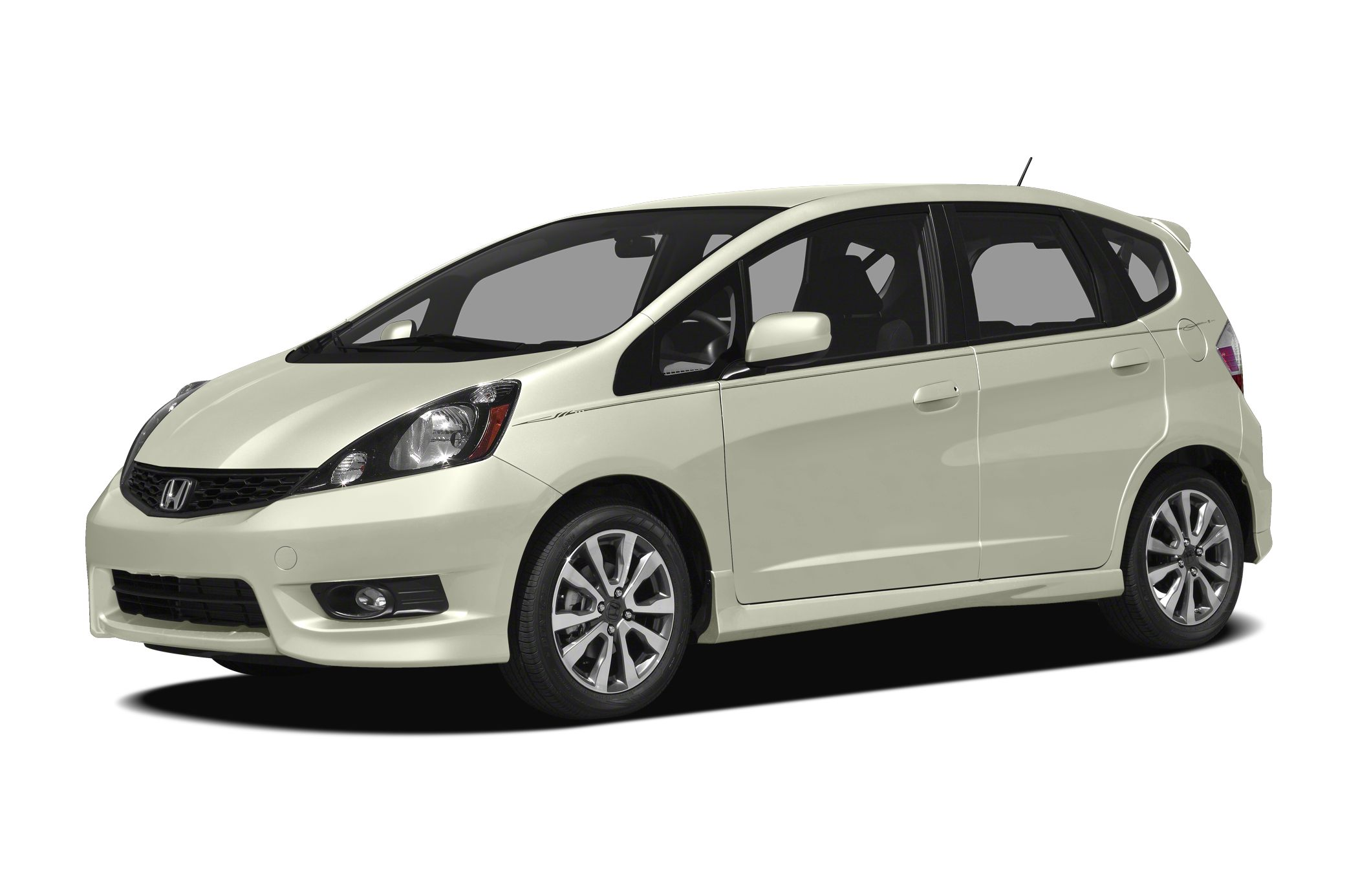 2012 Honda Fit Sport CARFAX 1-Owner EPA 33 MPG Hwy27 MPG City Sport trim Vortex Blue Pearl ext
