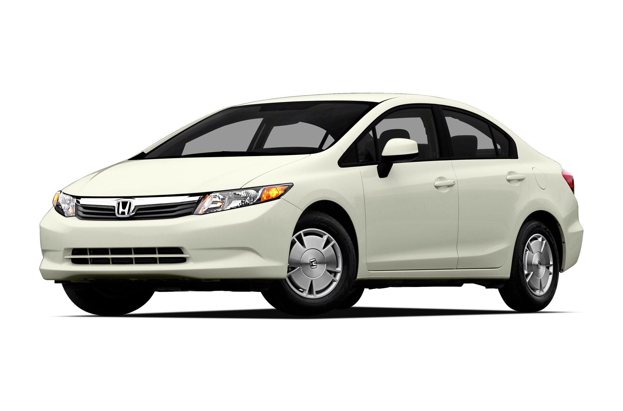 2012 Honda Civic HF Civic HF 4D Sedan 18L I4 SOHC 16V i-VTEC 5-Speed Automatic FWD Taffeta W