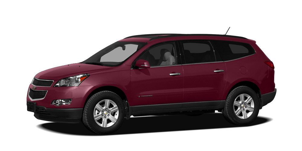 2010 Chevrolet Traverse LTZ Excellent Condition EPA 24 MPG Hwy17 MPG City DVD Heated Seats Su