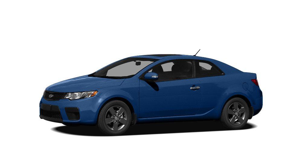2010 Kia Forte Koup SX Miles 112118Color Blue Stock SB15729B VIN KNAFW6A36A5142617