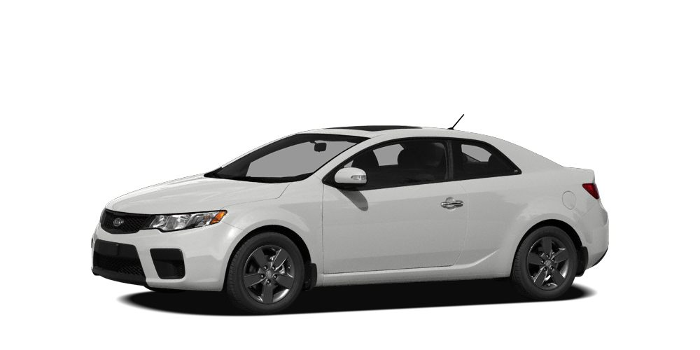 2010 Kia Forte Koup EX What a terrific deal My My My What a dealYou wont find a nicer 2010 K