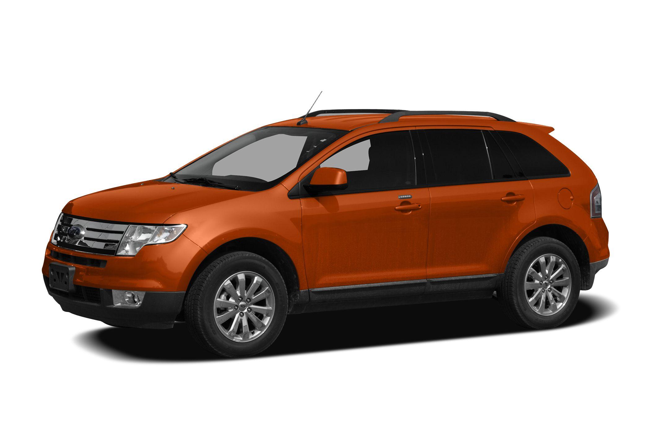 2008 Ford Edge Limited Clean CARFAX AWD 18 Premium Chrome-Clad Aluminum Wheels Heated front sea