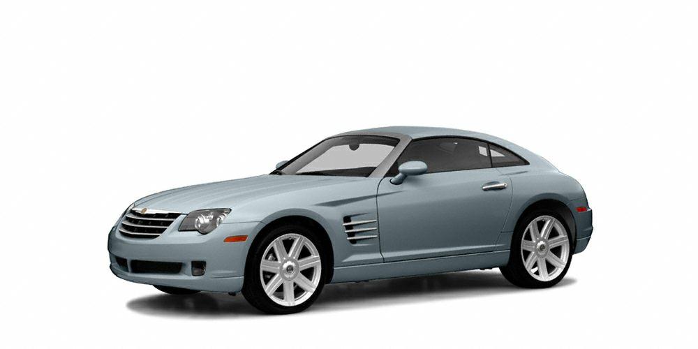 2004 Chrysler Crossfire Base Crossfire trim Sapphire Silver Blue Met exterior and Dark GrayMed G