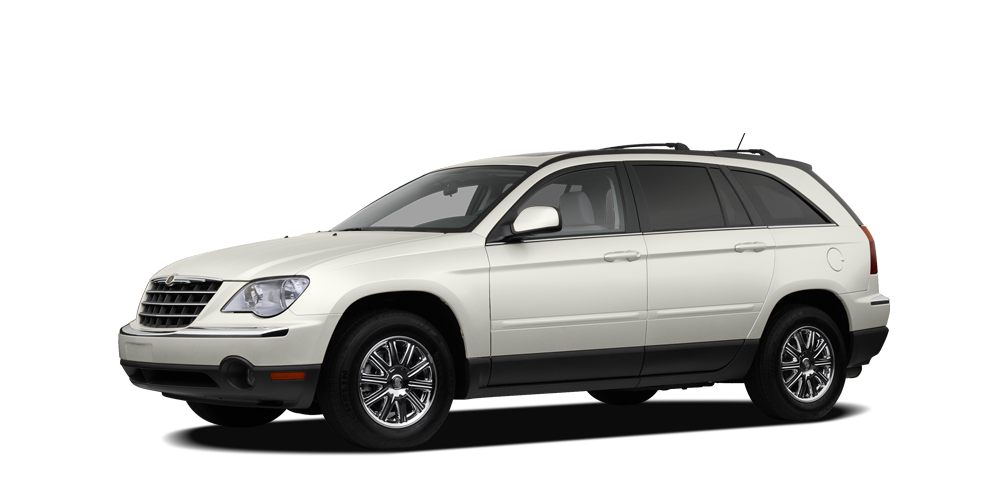 2007 Chrysler Pacifica Touring Miles 164371Color Stone White Clearcoat Stock RP1002A VIN 2A8