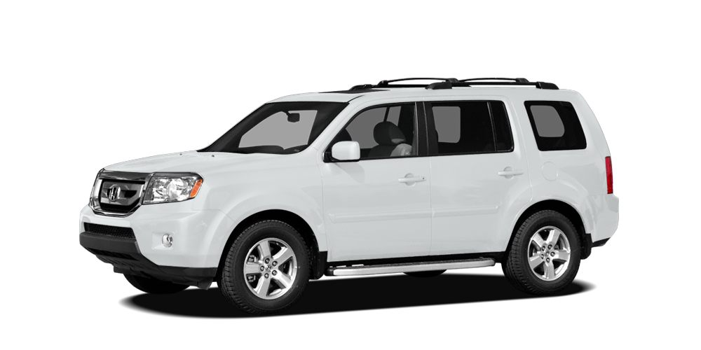 2011 Honda Pilot EX-L w RES Haggle Free Price White Honda Pilot with upgraded Leather interior