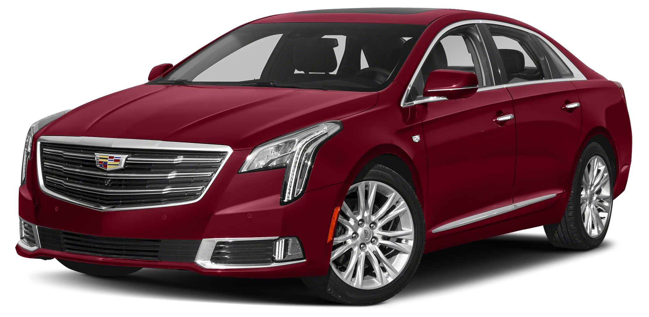 2018 Cadillac XTS Luxury Miles 2Color Red Stock 4234 VIN 2G61M5S3XJ9140208