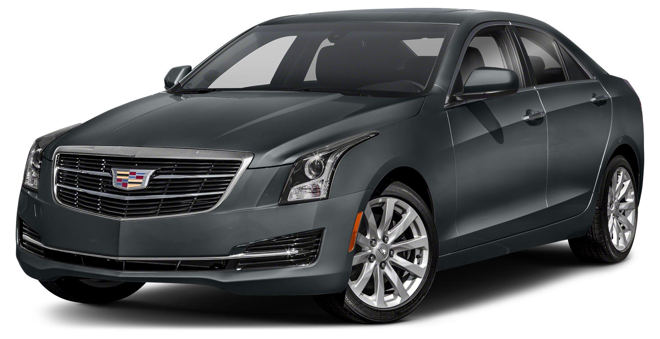 2018 Cadillac ATS 20 Turbo Prior Dealer Loaner Vehicle Phantom Gray Metallic 2018 Cadillac ATS