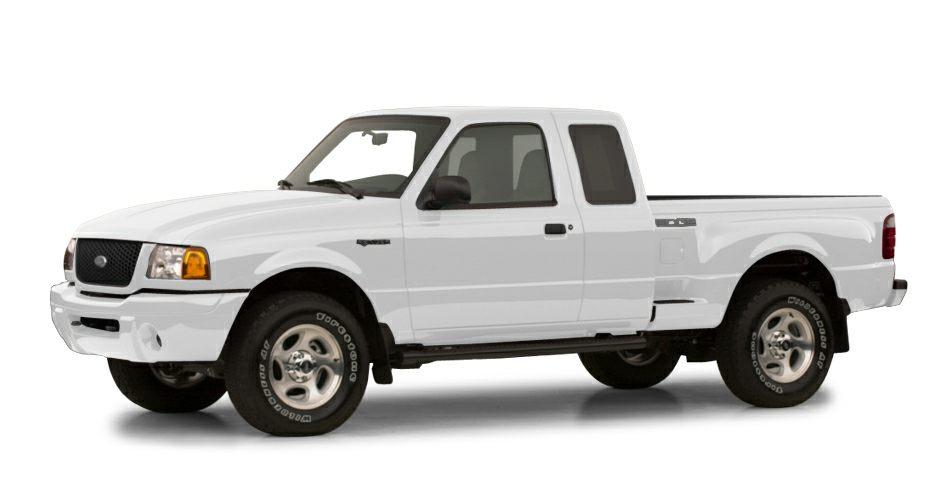 2001 Ford Ranger  Miles 185681Color White Stock K7636A VIN 1FTYR14U01PA34489