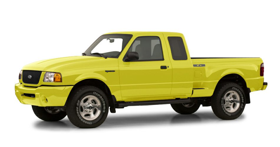 2001 Ford Ranger Edge Plus SUPERCAB XLT WITH ULTRA LOW MILEAGE A RARE FIND 45 POINT INSPECTION