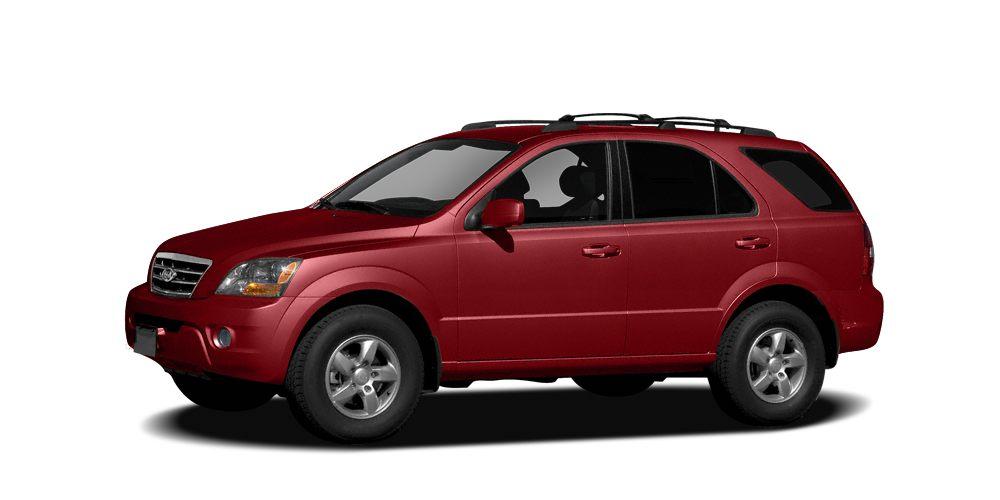 2009 Kia Sorento LX Miles 104480Color Red Stock K14272A VIN KNDJD735195891344