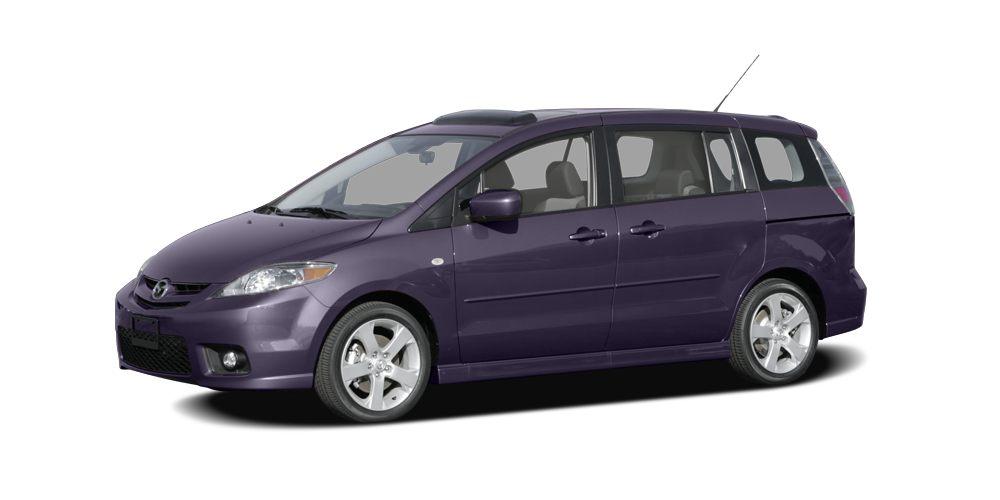 2007 Mazda MAZDA5 Sport Miles 136241Color Dark Plum Mica Stock SB16810A VIN JM1CR29357015193