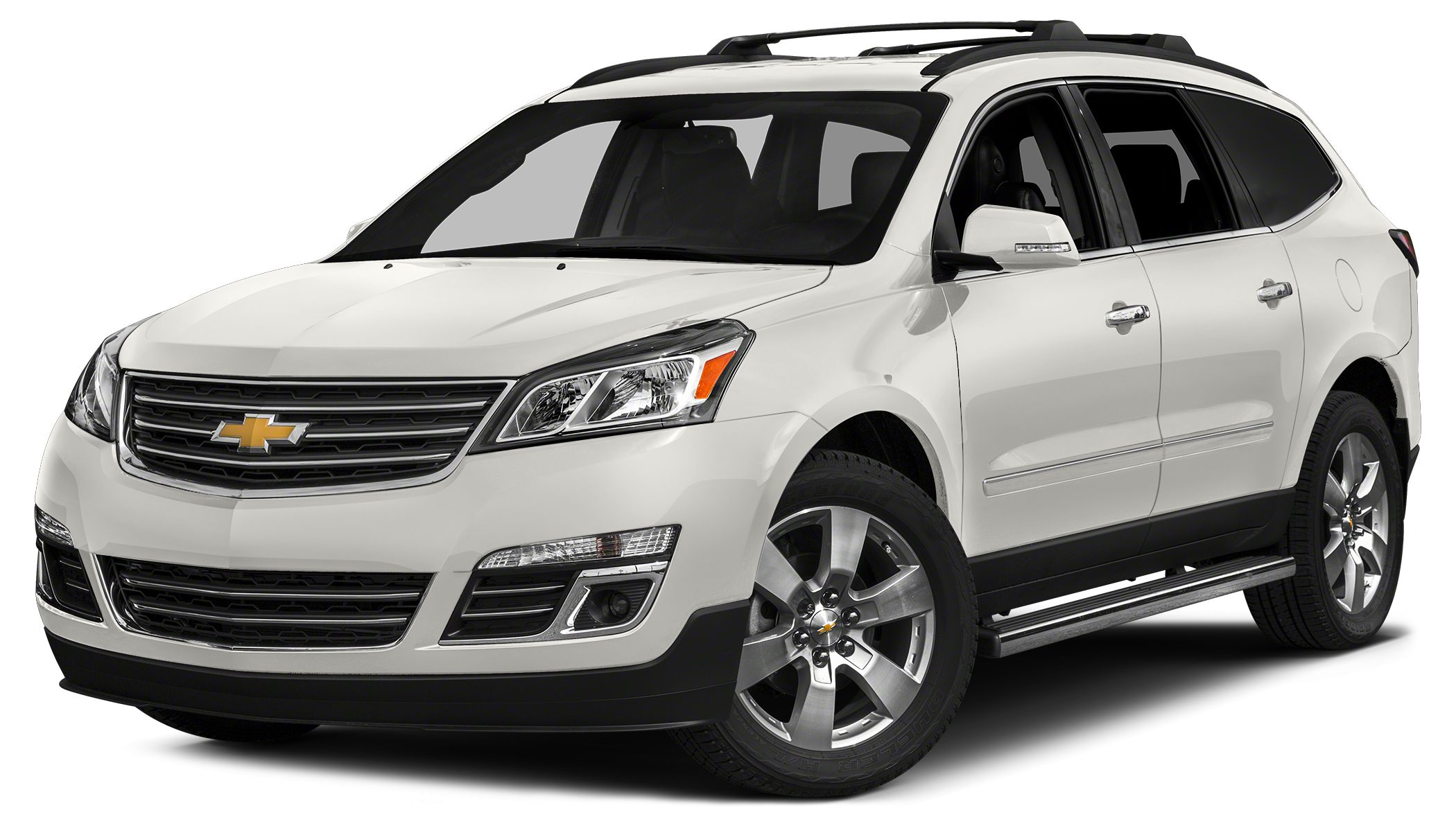 2015 Chevrolet Traverse LTZ Miles 24219Color White Stock T7026A VIN 1GNKRJKD9FJ190895