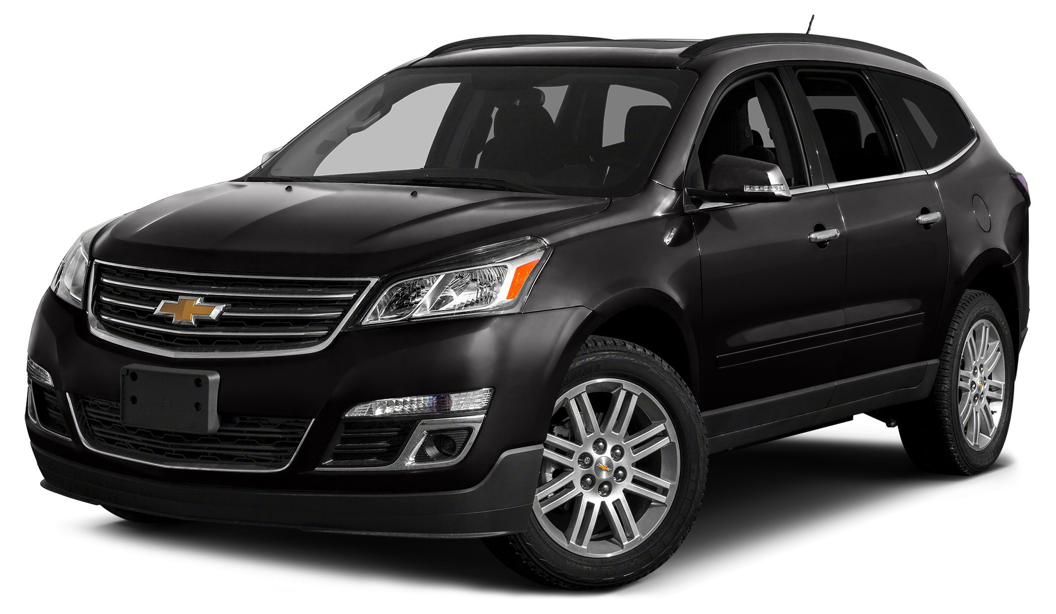 2015 Chevrolet Traverse 2LT Hit The Road Package Chrome Assist Steps and Roof Rack Longitudinal C