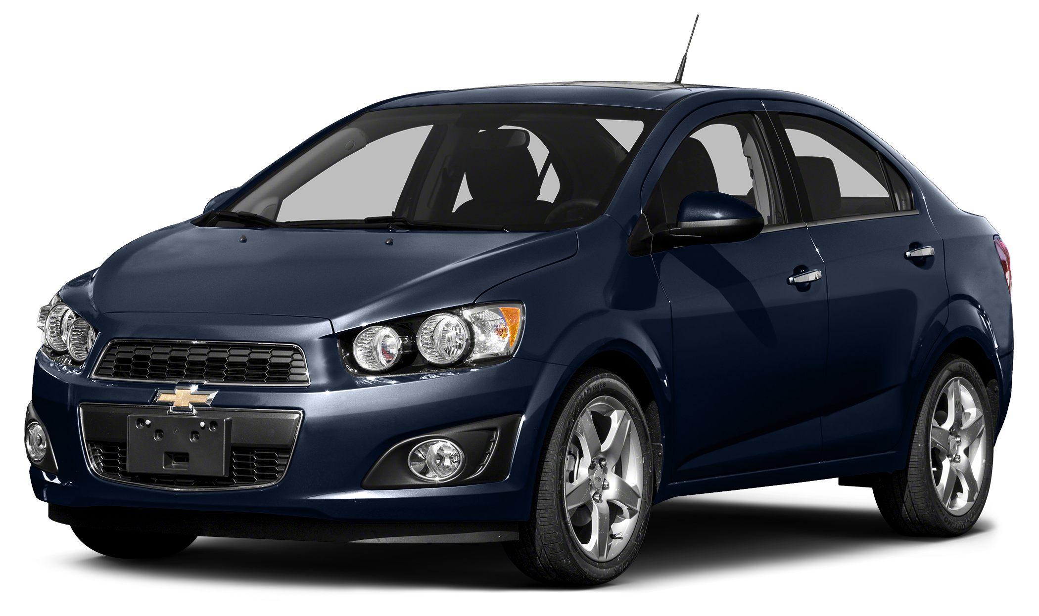 2015 Chevrolet Sonic LT Blue Velvet Metallic 2015 Chevrolet Sonic LT FWD 6-Speed Automatic ECOTEC