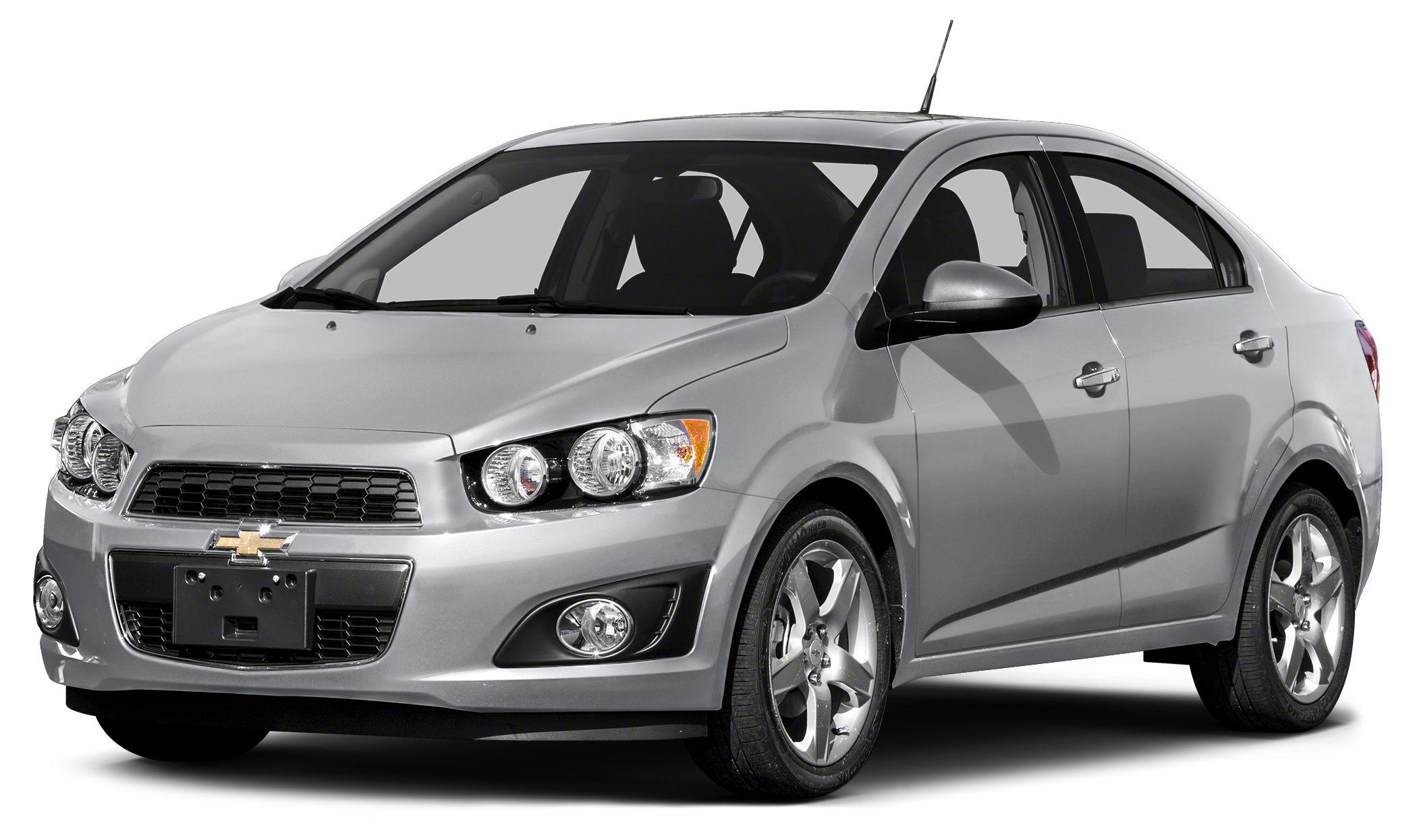 2015 Chevrolet Sonic LTZ ONLY 10724 Miles EPA 37 MPG Hwy27 MPG City Heated Seats Satellite Ra