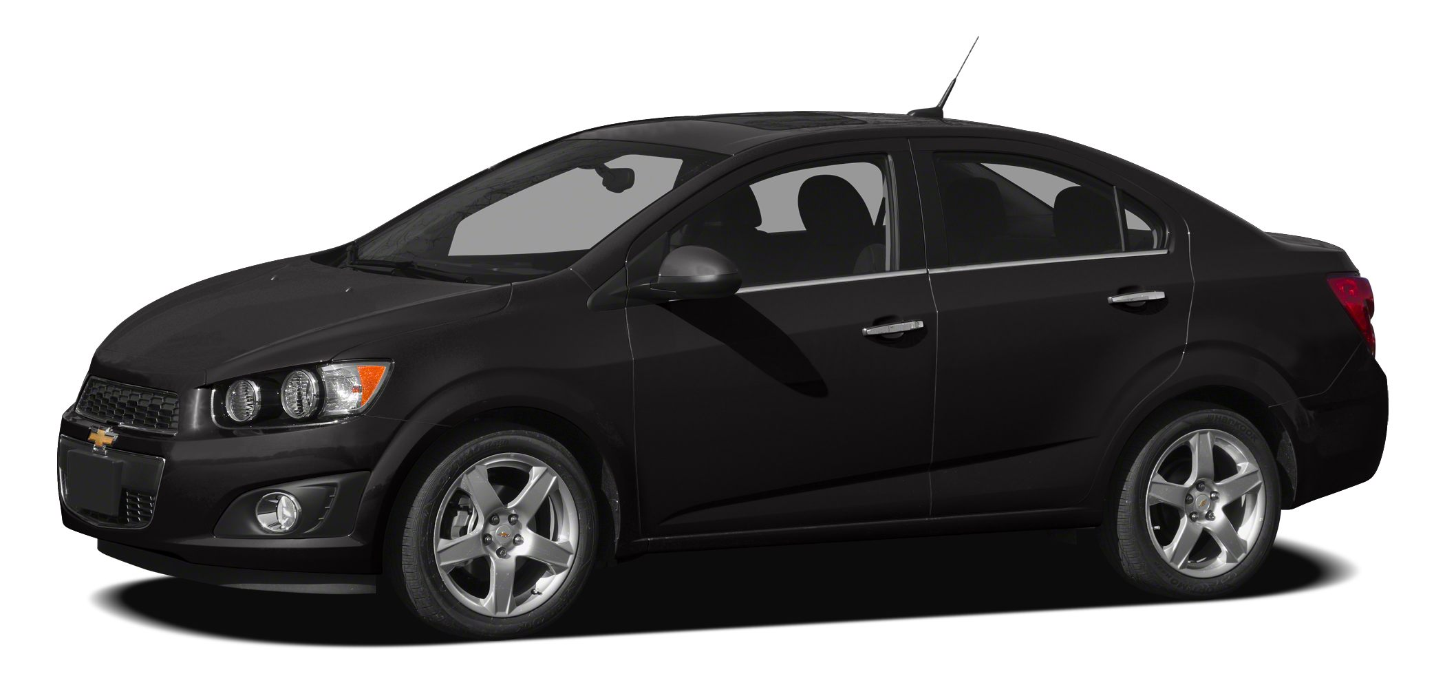 2012 Chevrolet Sonic  ECOTEC 18L I4 DOHC VVT FWD and Black It will always get you there High