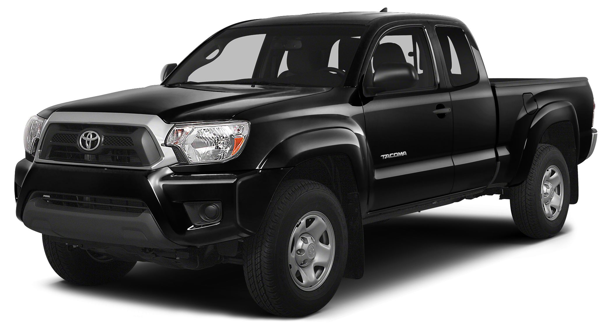2014 Toyota Tacoma Base Miles 6916Color Black Stock P4078 VIN 5TFUU4EN6EX086138