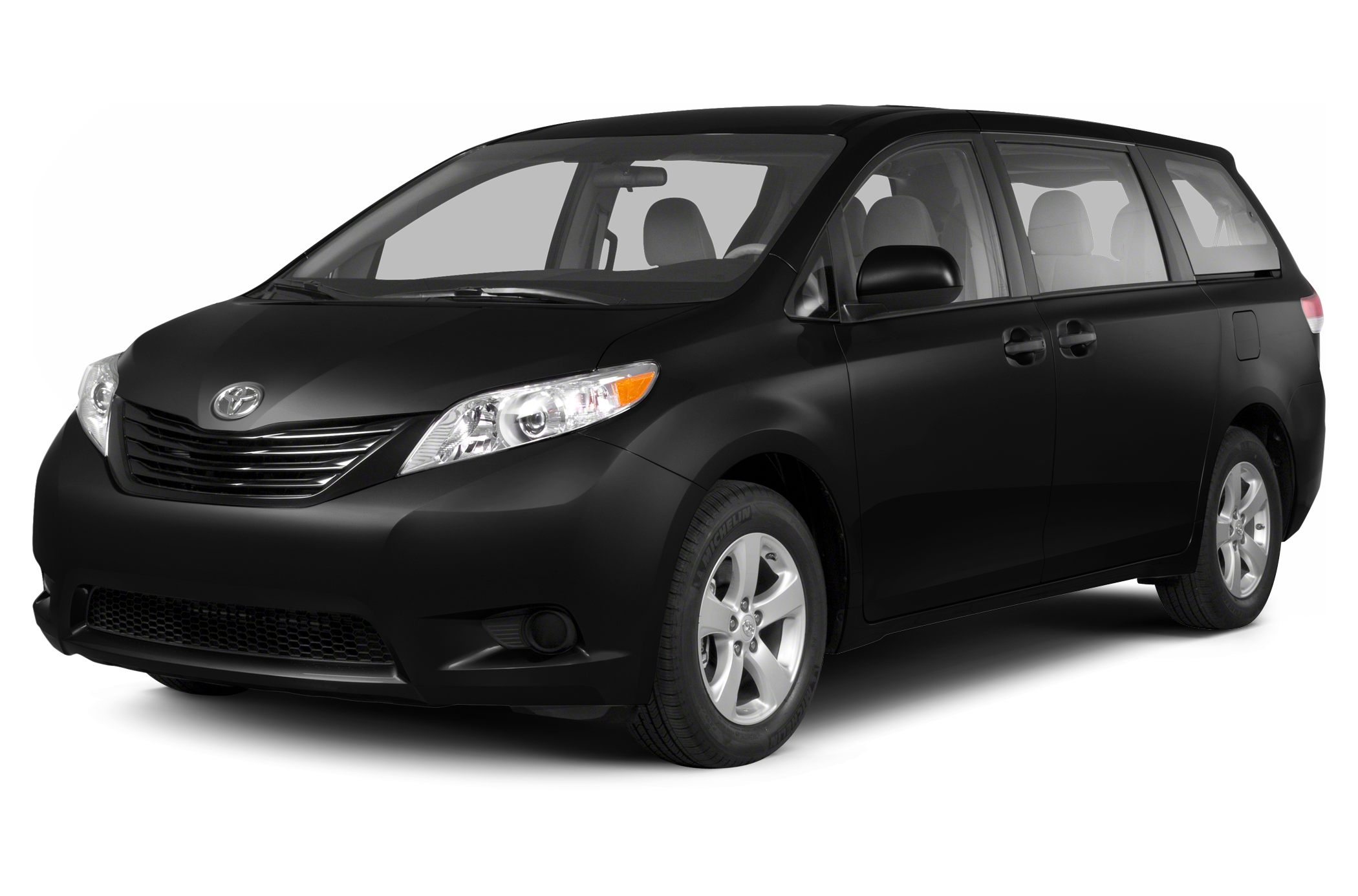 2013 Toyota Sienna XLE 7 Passenger SILVER SKY METALLIC exterior and LIGHT GRAY interior XLE trim
