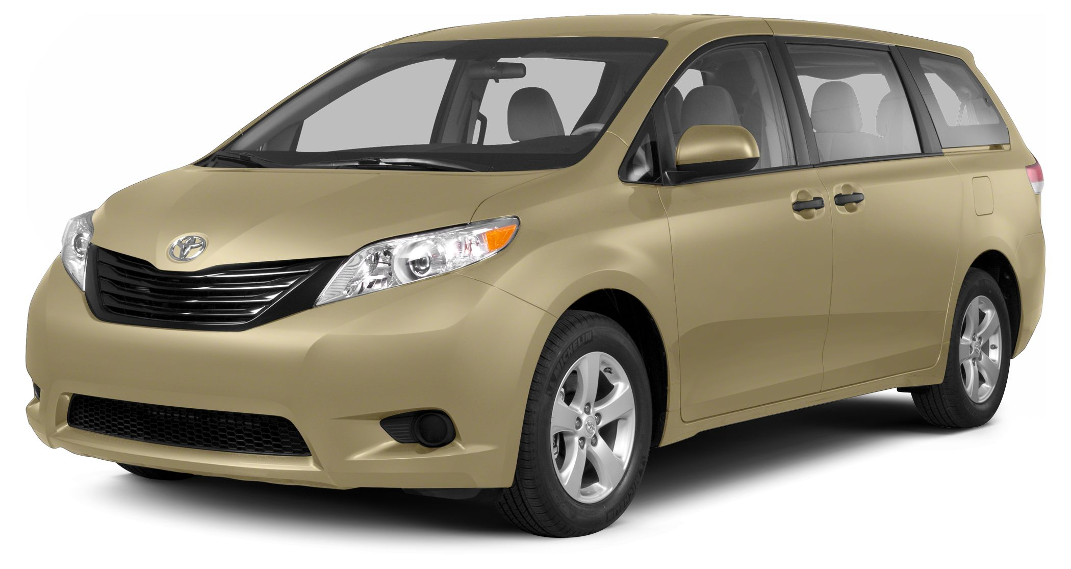 2013 Toyota Sienna LE 8 Passenger CARFAX 1-Owner EPA 25 MPG Hwy18 MPG City LE trim 3rd Row Sea
