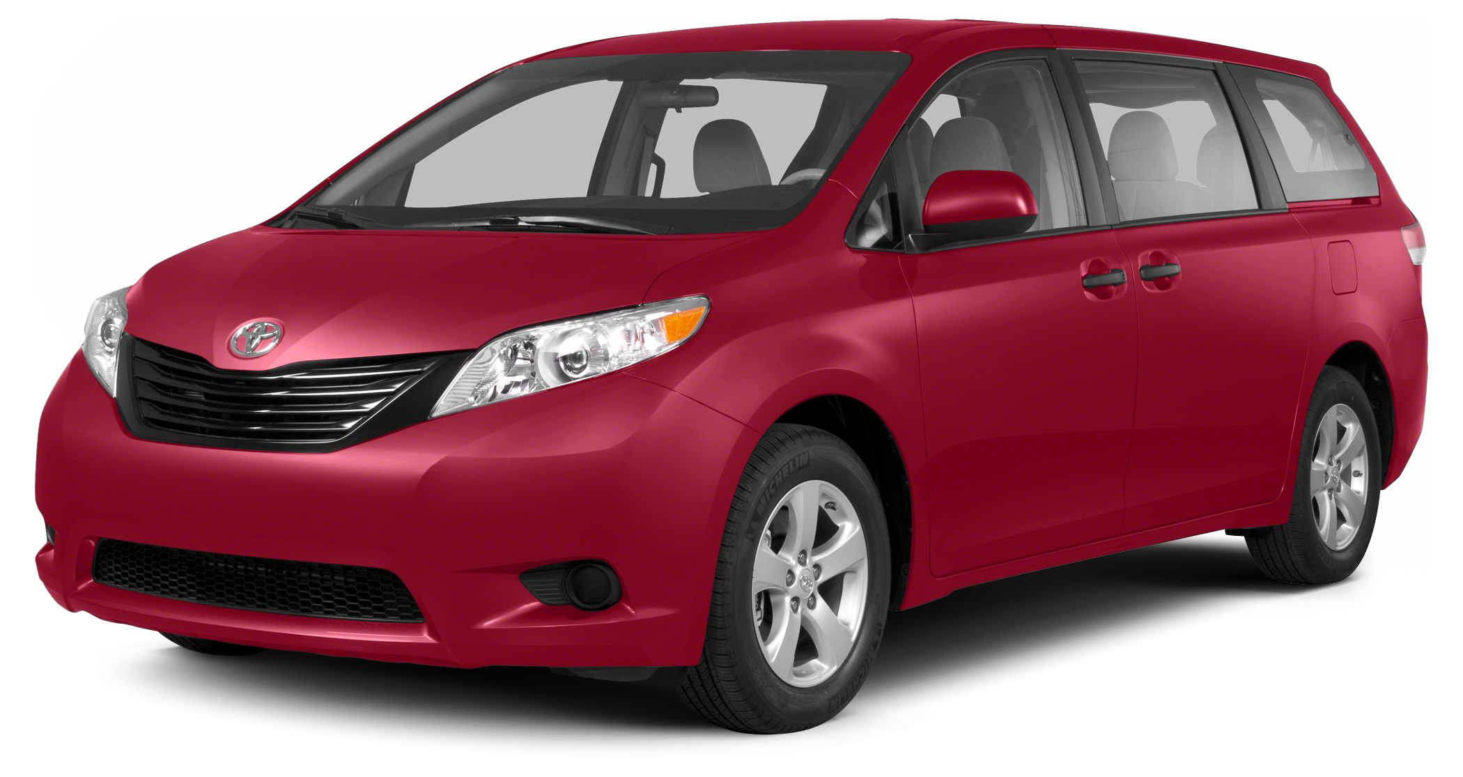 2013 Toyota Sienna L 7 Passenger Miles 18845Color Red Stock T25199A VIN 5TDZK3DC3DS307771