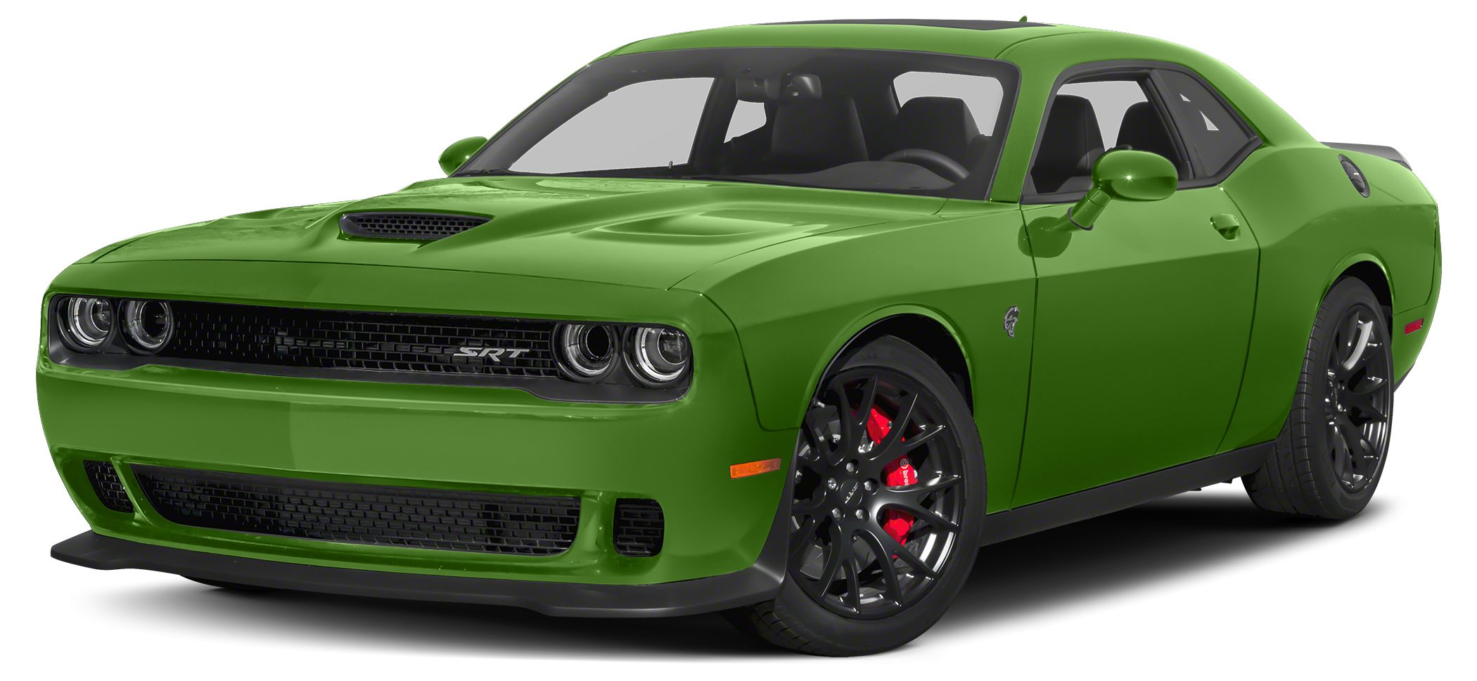 2015 Dodge Challenger SRT Hellcat This outstanding example of a 2015 Dodge Challenger 2dr Cpe SRT