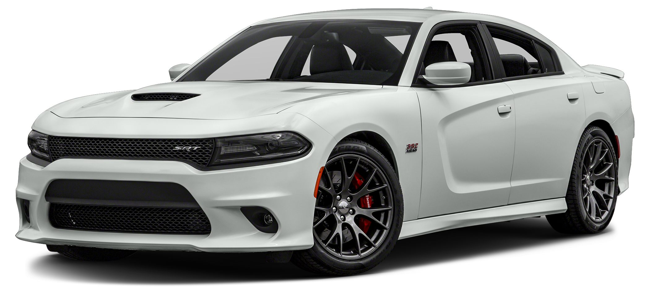 2016 Dodge Charger SRT 392 Color Bright White Clearcoat Stock GH293124 VIN 2C3CDXEJ3GH293124