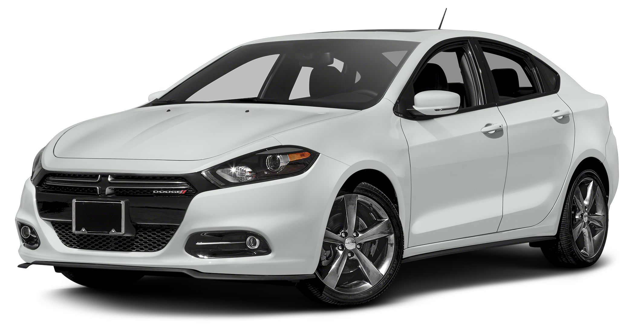 2015 Dodge Dart GT GREAT MILES 18766 EPA 33 MPG Hwy23 MPG City GT trim Heated Leather Seats