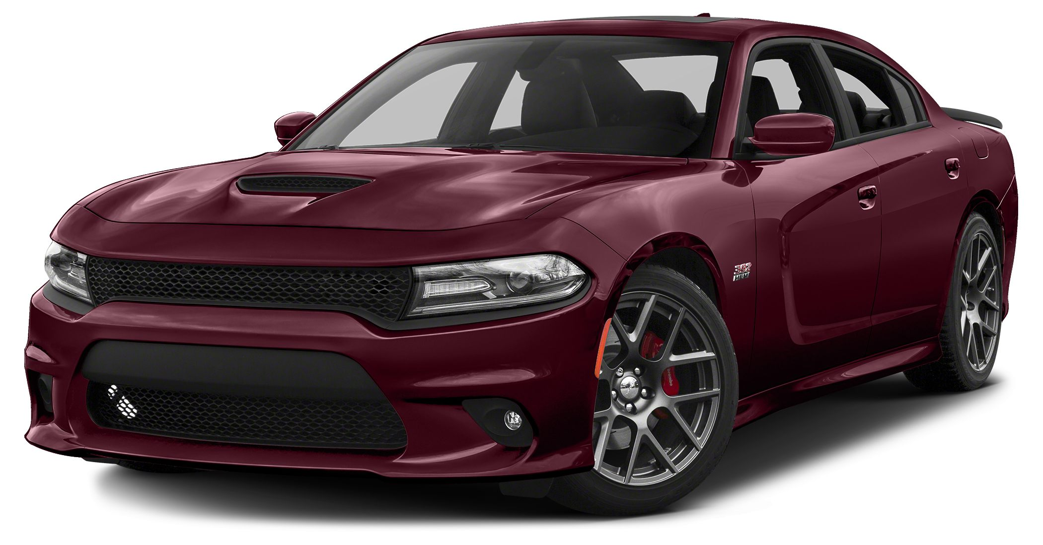 2017 Dodge Charger RT 392 Miles 4802Color Dark Garnet Red Pearlcoat Stock 18F44A VIN 2C3CDX
