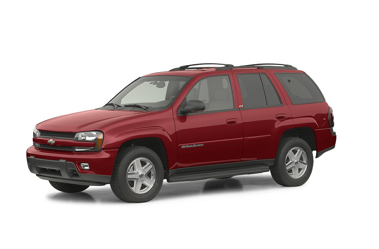 2002 Chevrolet TrailBlazer LS This Silver 2002 Chevrolet TrailBlazer LS might be just the SUV for