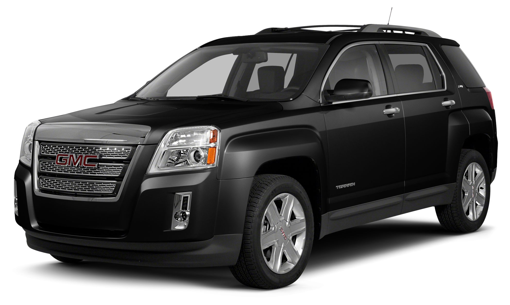 2013 GMC Terrain SLT-2 FUEL EFFICIENT 24 MPG Hwy17 MPG City Moonroof Heated Leather Seats Nav