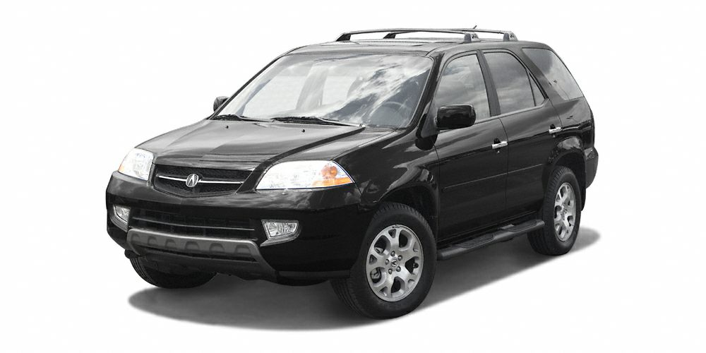 2002 Acura MDX 35 Touring Clean Carfax - One Owner Ebony wLeather Seat Trim Power Moonroof 3r