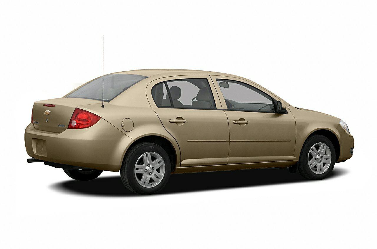 2007 Chevrolet Cobalt LS Vehicle Options Air Conditioning Front Air Dam Tachometer AMFM Radio Int