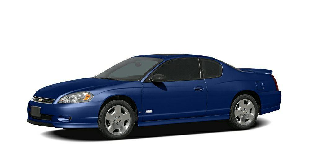 2007 Chevrolet Monte Carlo LT  FUEL EFFICIENT 31 MPG Hwy21 MPG City Moonroof Aluminum Wh