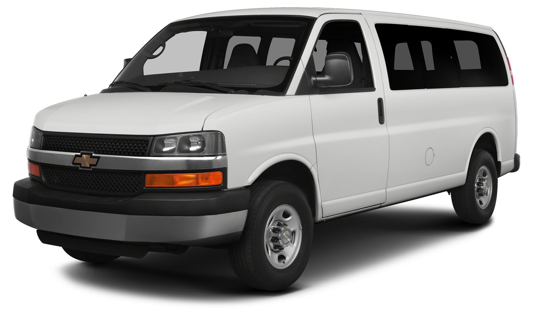 2014 Chevrolet Express 3500 LS w1LS LS trim 3rd Row Seat SEATING 15-PASSENGER 2-3-3-3-4 SEAT
