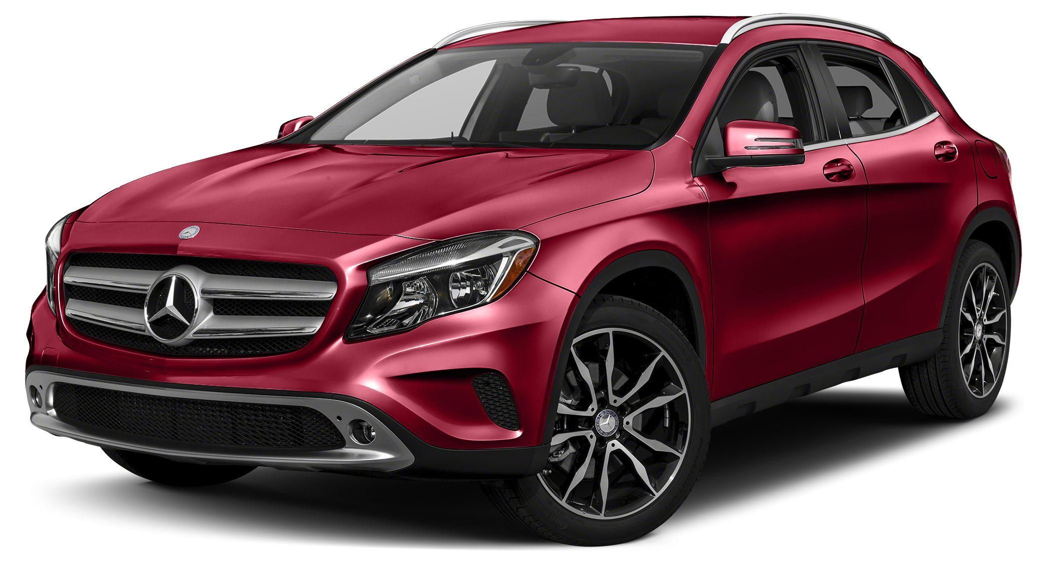 2015 MERCEDES GLA-Class BASE Jupiter Red 2015 Mercedes-Benz GLA-Class GLA250 4MATIC Miles 13285C