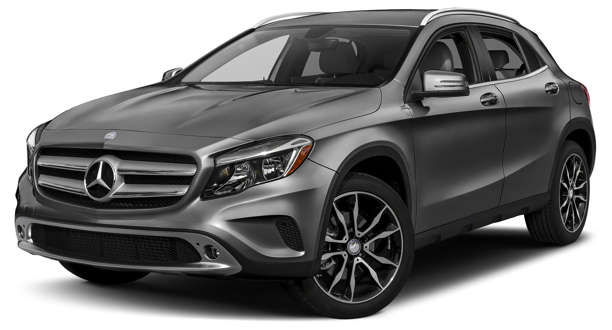 2016 MERCEDES GLA-Class GLA250 Miles 10Color Mountain Gray Metallic Stock L1284 VIN WDCTG4EB