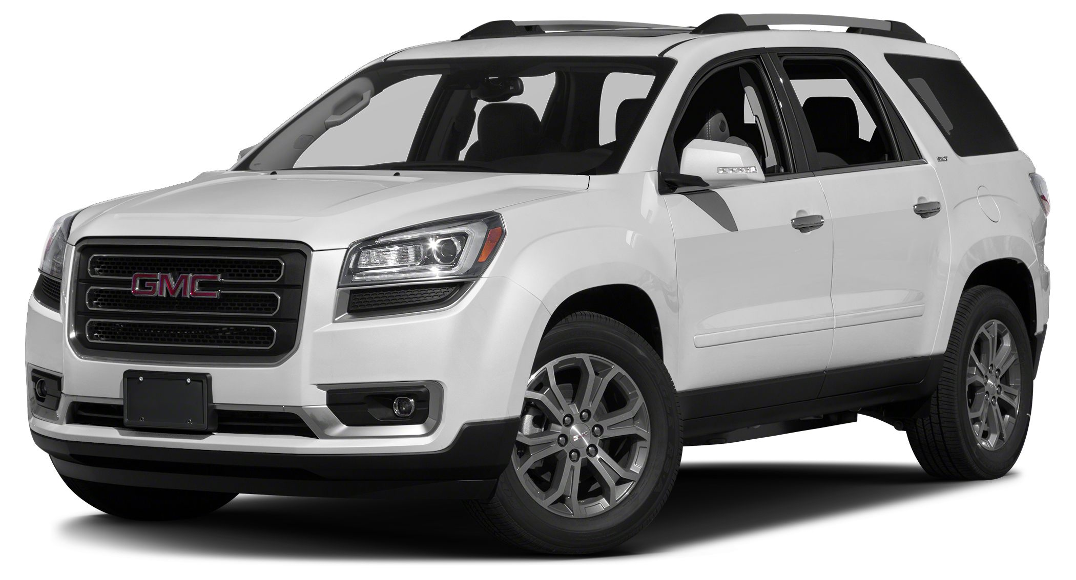 2016 GMC Acadia SLT-2 Nav System Third Row Seat Heated Leather Seats Aluminum Wheels Rear Air