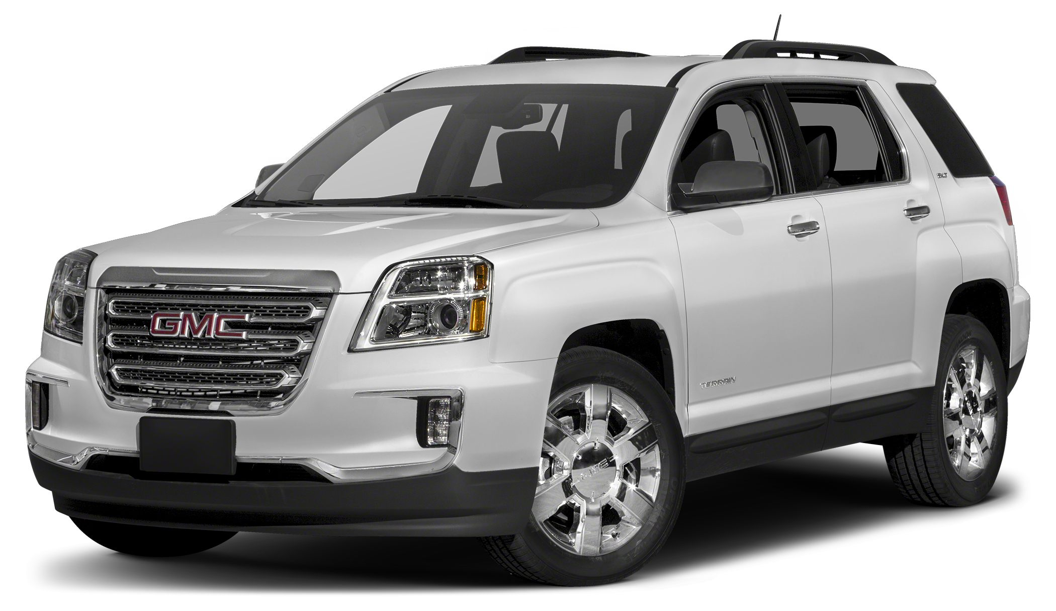 2016 GMC Terrain SLT Navigation Heated Leather Seats Chrome Wheels Remote Engine Start Back-Up