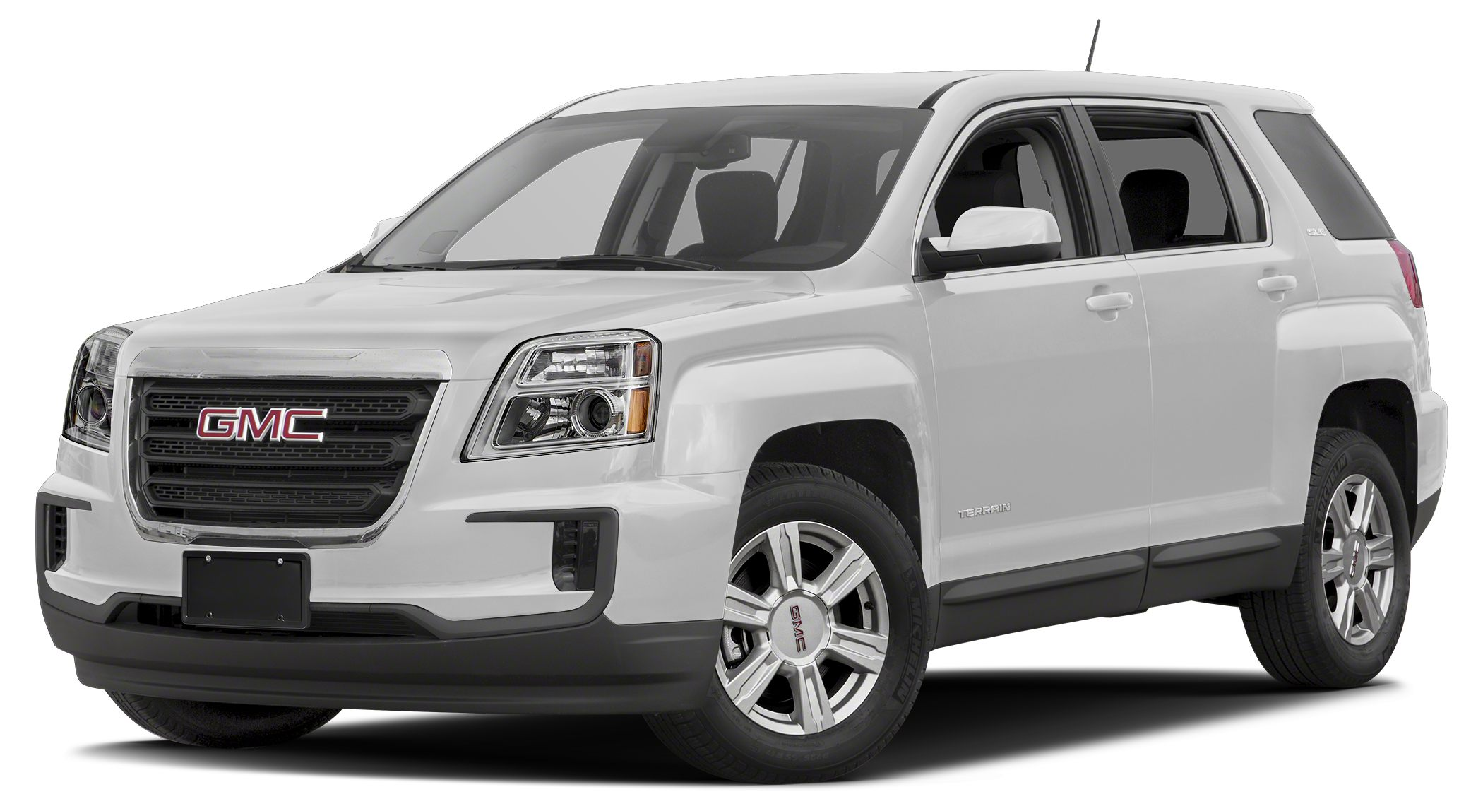 2016 GMC Terrain SLE-1 SUMMIT WHITE exterior and JET BLACK interior SLE trim Onboard Communicati