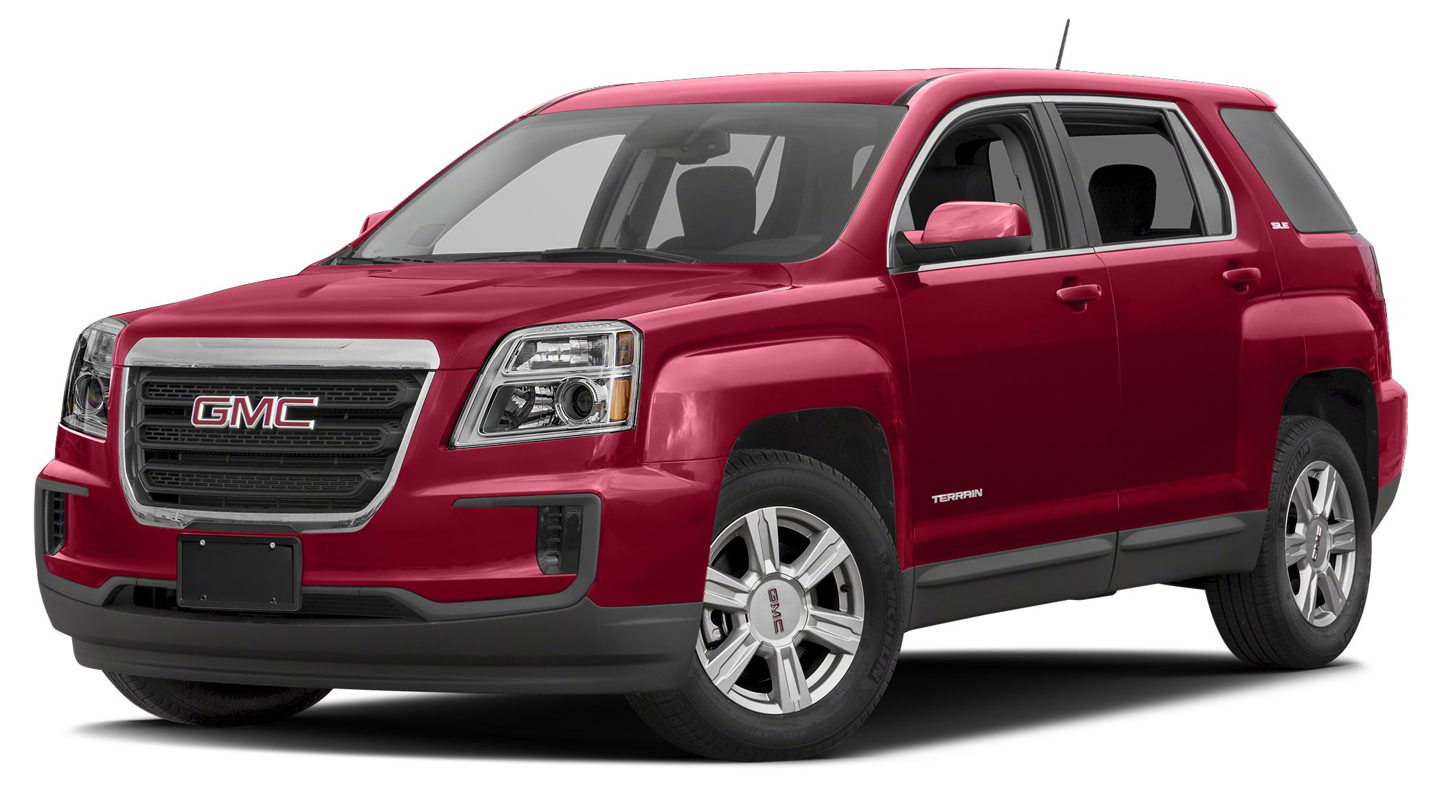 2016 GMC Terrain SLE-1 SLE trim EPA 32 MPG Hwy22 MPG City Alloy Wheels Satellite Radio iPodM