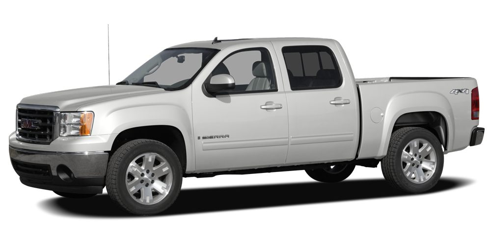 2007 GMC Sierra 1500 SLE Very Nice CARFAX 1-Owner AUDIO SYSTEM AMFM STEREO WITH MP3 C TRAIL