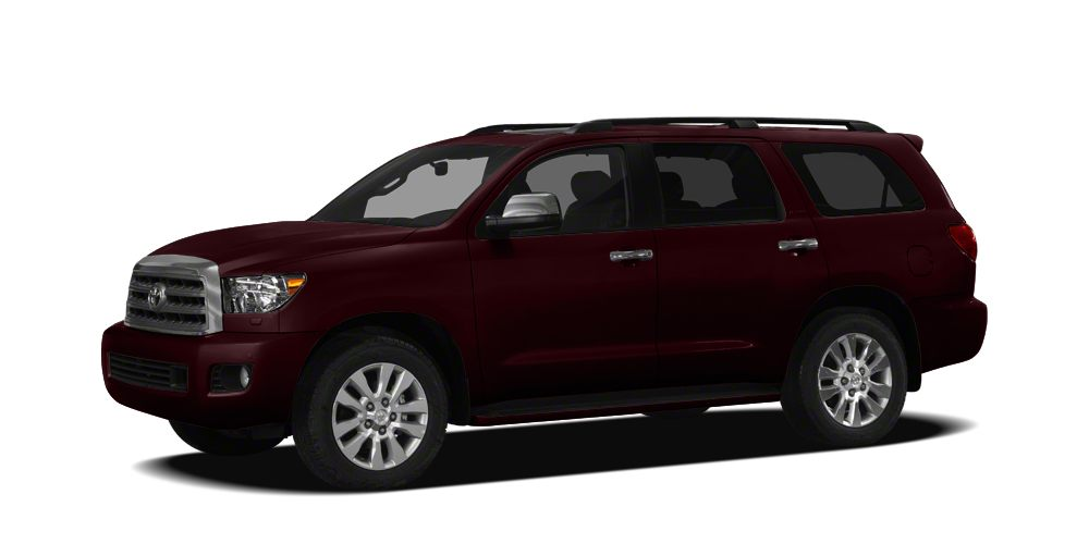 2012 Toyota Sequoia SR5 Miles 63432Color Red Stock H463222A VIN 5TDZY5G11CS040827
