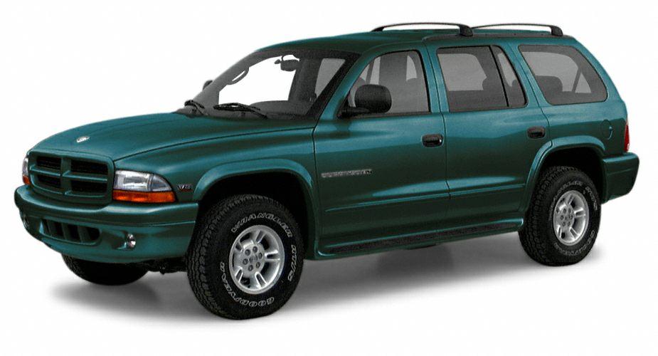 2000 Dodge Durango SLT Durango SLT 4D Sport Utility Magnum 59L V8 SMPI 4-Speed Automatic 4WD