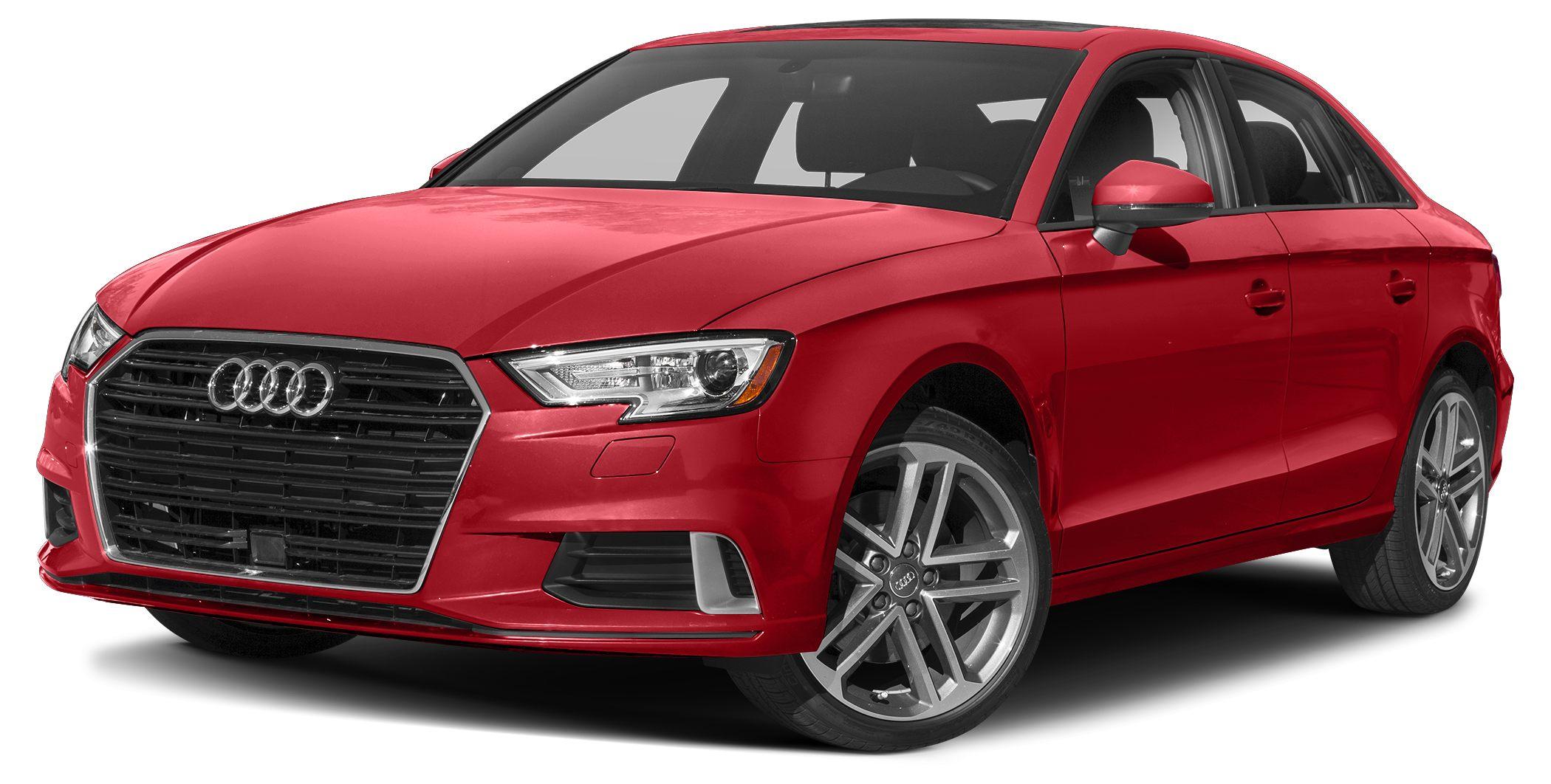 2018 Audi A3 20T quattro Premium Audi CertifiedThis All Wheel Drive Very Low Mileage A3 Premiu