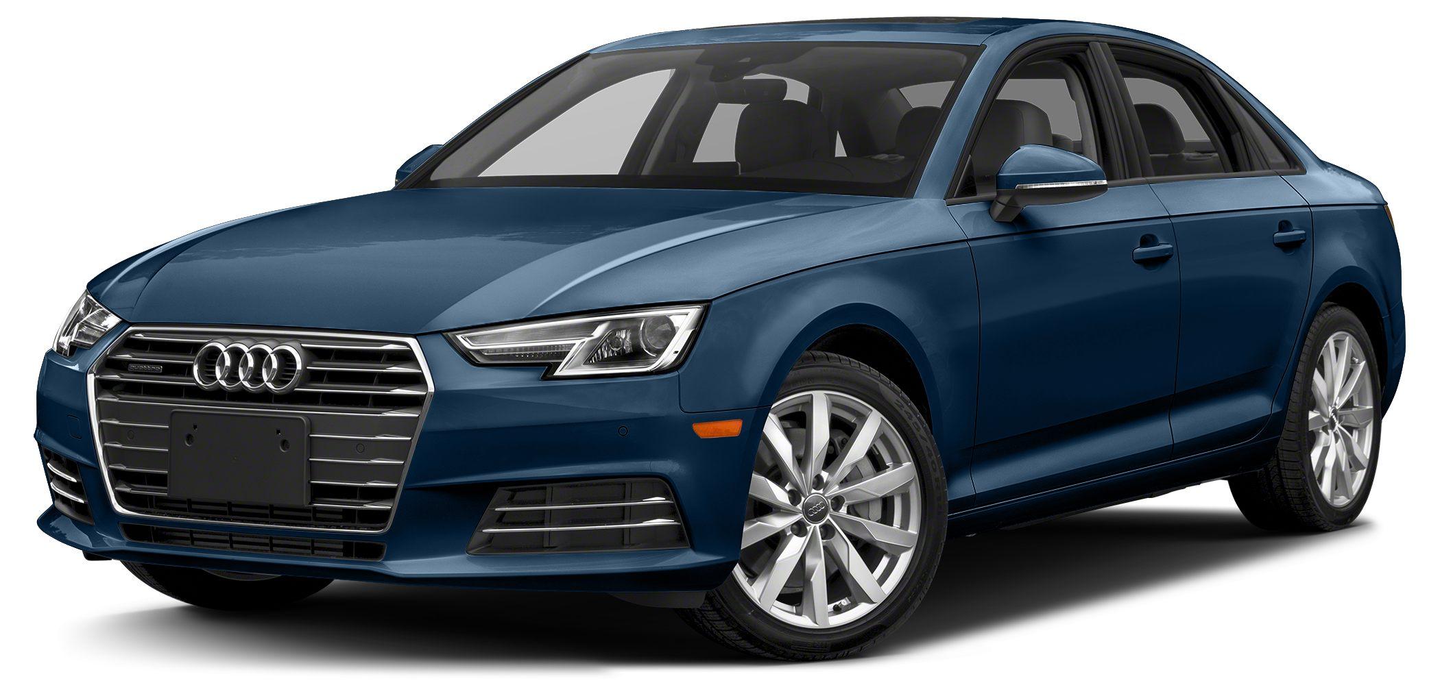 2018 Audi A4 20T Ultra Premium Optional equipment includes Premium Plus Package Natural Gray Oa