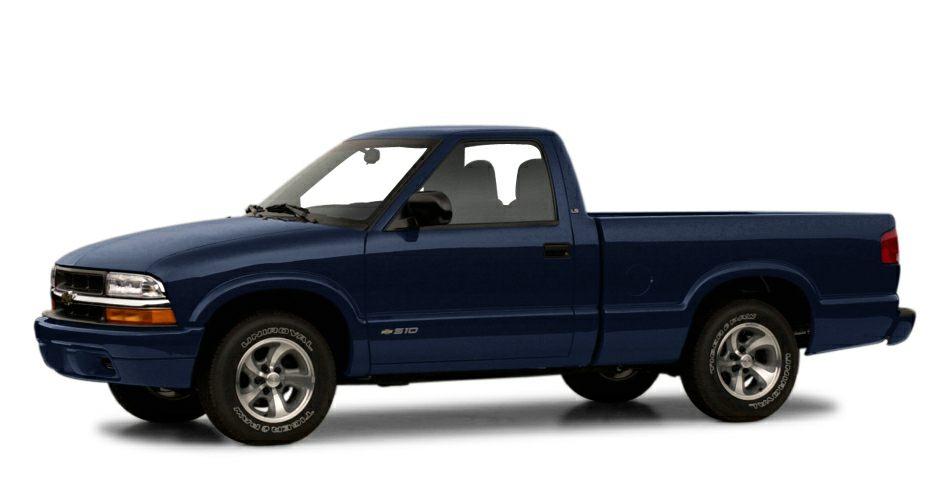 2001 Chevrolet S-10 Pickup LS EPA 28 MPG Hwy22 MPG City LS trim ETR AMFM STEREO WCOMPACT DISC