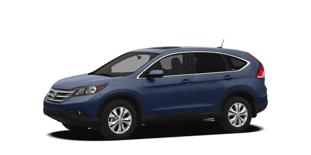 2012 Honda CR-V EX-L WE FINANCECARFAX CERTIFIED ONE OWNER and LEATHER SEATS CR-V EX-L 4D